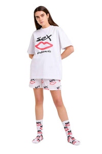 SEX SKATEBOARDS T-Shirt SEX White - Circle Collective