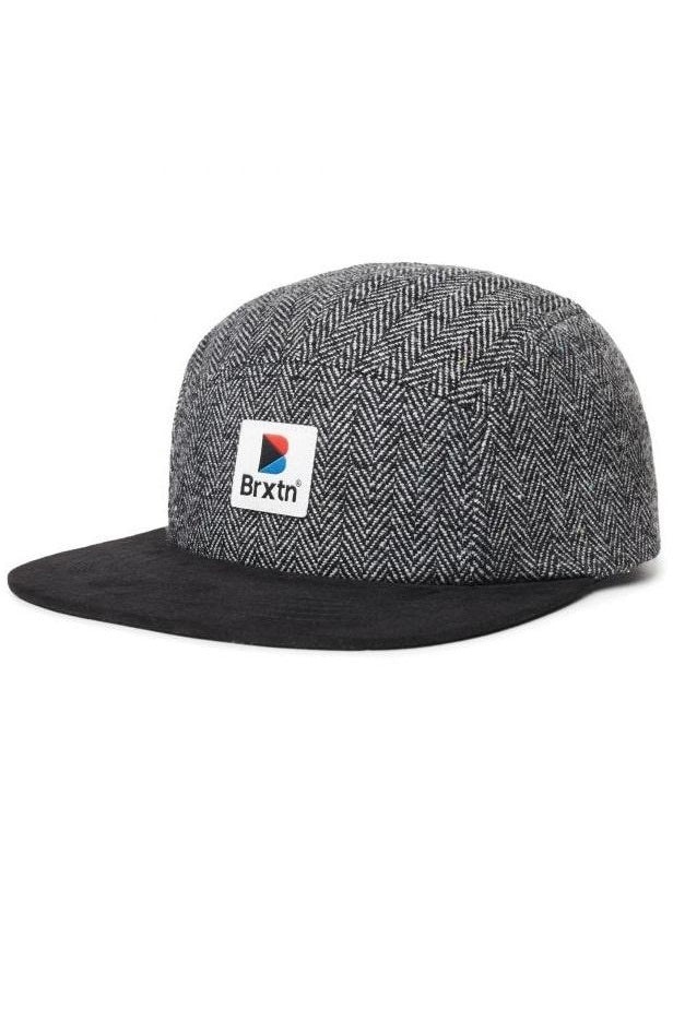 BRIXTON Cap Stowell Black/Grey - Circle Collective