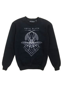 TOTAL BLACK Sweatshirt Beetle - Circle Collective