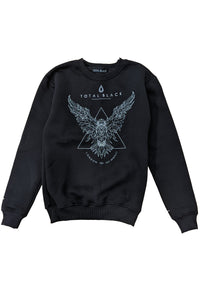 TOTAL BLACK Sweatshirt Raven - Circle Collective