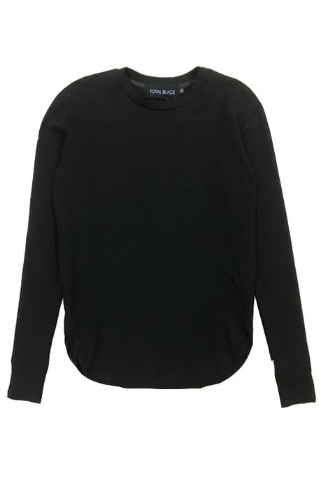 TOTAL BLACK Sweatshirt Virtue - Circle Collective