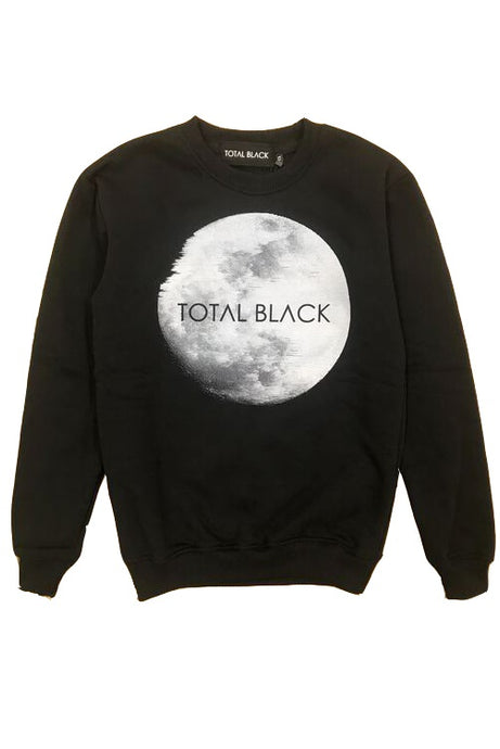 TOTAL BLACK Sweatshirt Black Moon - Circle Collective