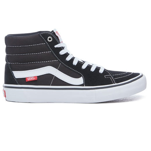 VANS SK8 Hi Pro Black/White - Circle Collective