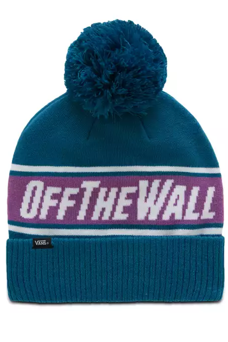 VANS Beanie Off The Wall Pom Turkish Tile - Circle Collective