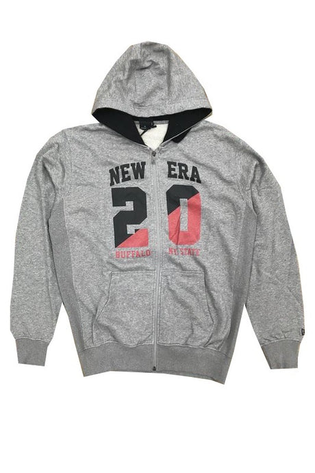 NEW ERA Hoodie 20 Buffalo State Grey - Circle Collective