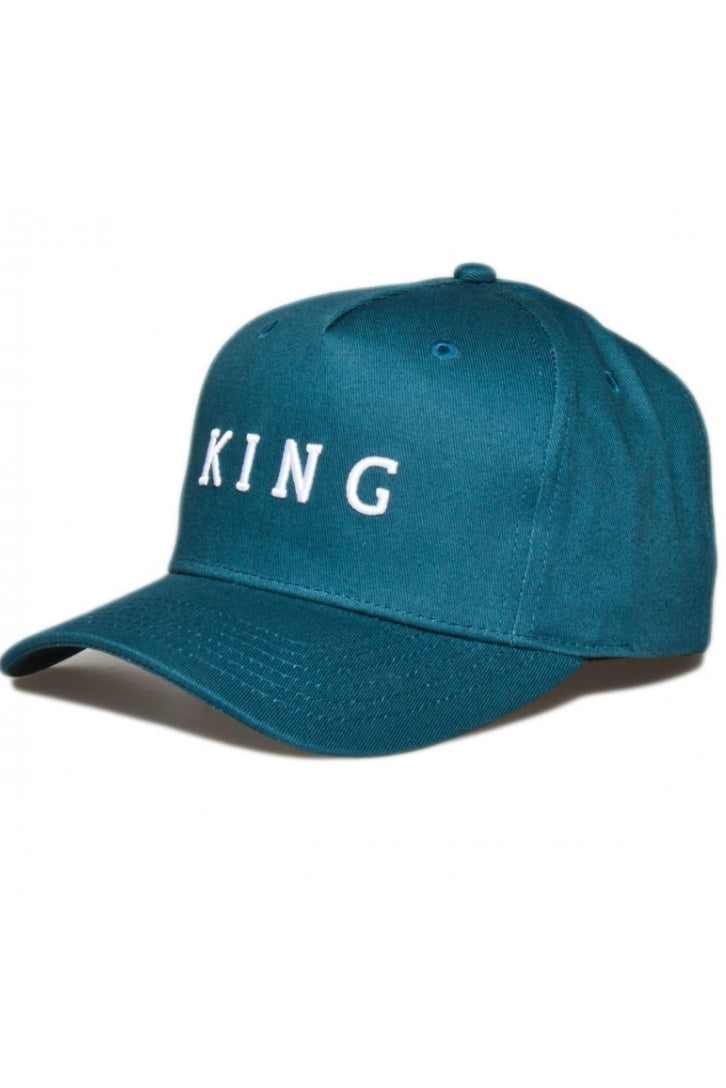 KING APPAREL Curved Cap Stepney Ink Blue - Circle Collective