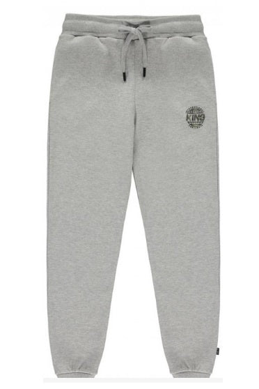 KING APPAREL Track Pants Bethnal Grey/Camo - Circle Collective