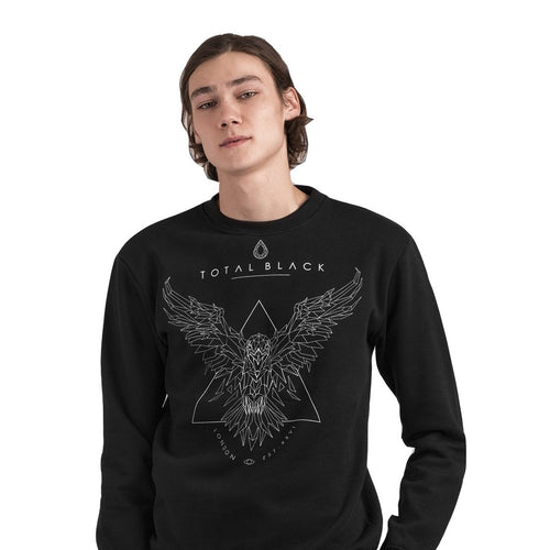 TOTAL BLACK Sweatshirt Raven