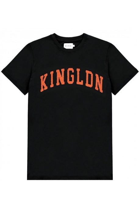 KING APPAREL T-Shirt Blackwall Black - Circle Collective
