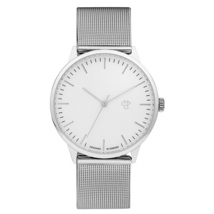 CHPO Watch Nando Silver/White - Circle Collective