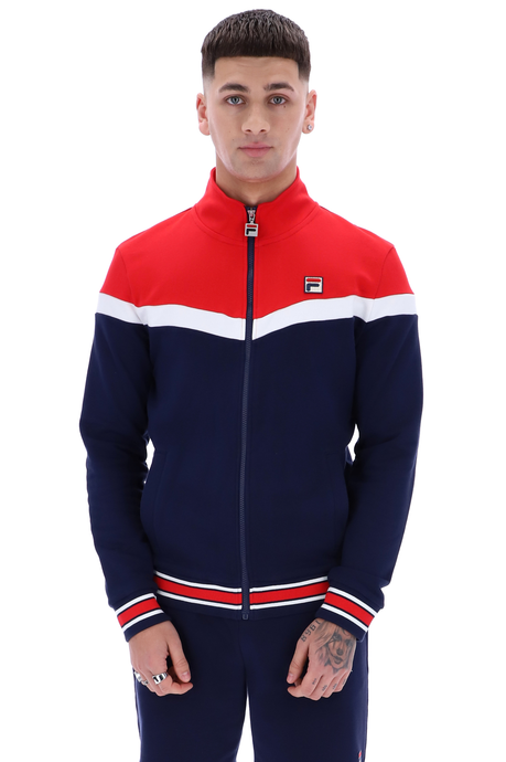 FILA VINTAGE Track Top Flint Peacoat/Red - Circle Collective