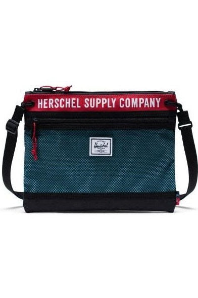 HERSCHEL Shoulder Bag Alder Poly Black / Red - Circle Collective