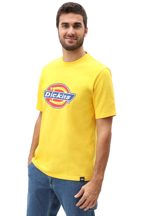 DICKIES T-Shirt Horseshoe Yellow