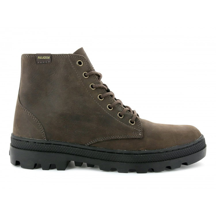 PALLADIUM Pallabosse Mid Chocolate/Black
