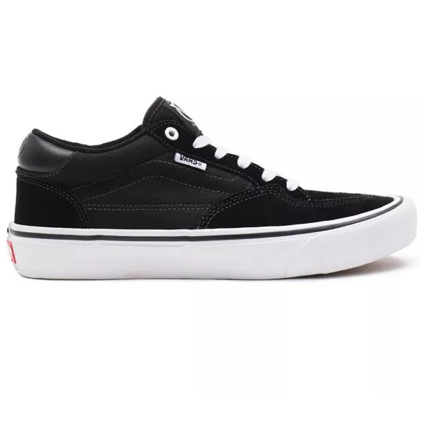 VANS Rowan Pro Mid Black/White (Suede) - Circle Collective