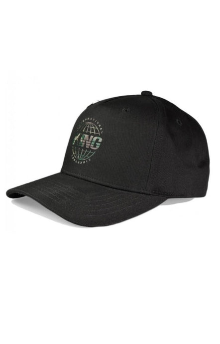 KING APPAREL Curved Cap Bethnal Black/Camo - Circle Collective