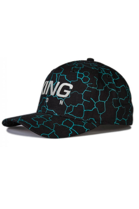 KING APPAREL Curved Cap Whitechapel Black
