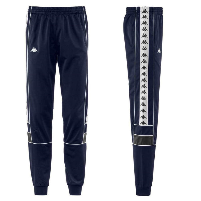 KAPPA Track Pant Banda Mems Slim 222 Blue/Grey/White - Circle Collective