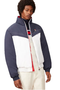 FILA Vintage Puffer Jacket Flynn Archive White/Peacoat/Red - Circle Collective