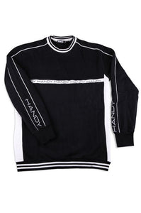 HANDY SUPPLY CO Sweatshirt Fleece Black/White - Circle Collective
