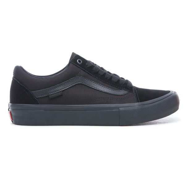 VANS Old Skool Pro Blackout - Circle Collective