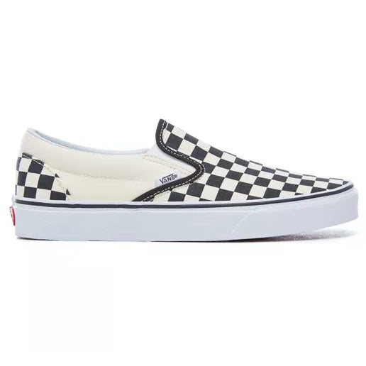 VANS Classic Slip on Black and White Checkerboard - Circle Collective