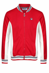 FILA VINTAGE Jacket Settanta Chinese Red/Turtle Dove - Circle Collective