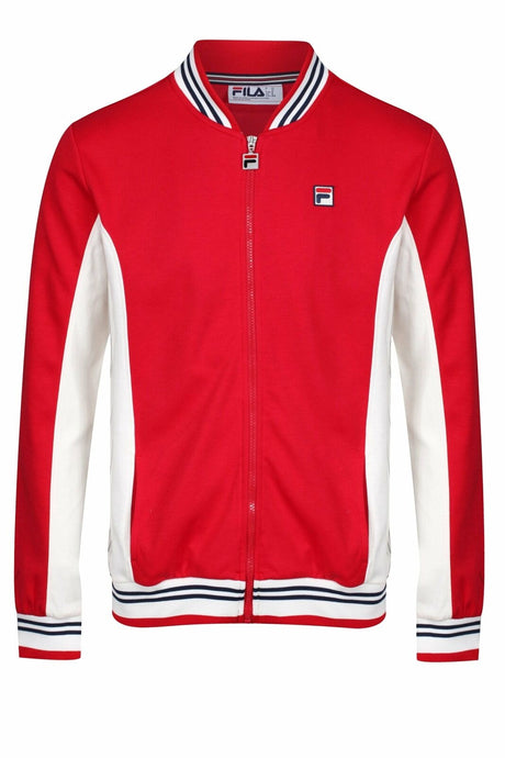FILA VINTAGE Jacket Settanta Chinese Red | Circle Collective