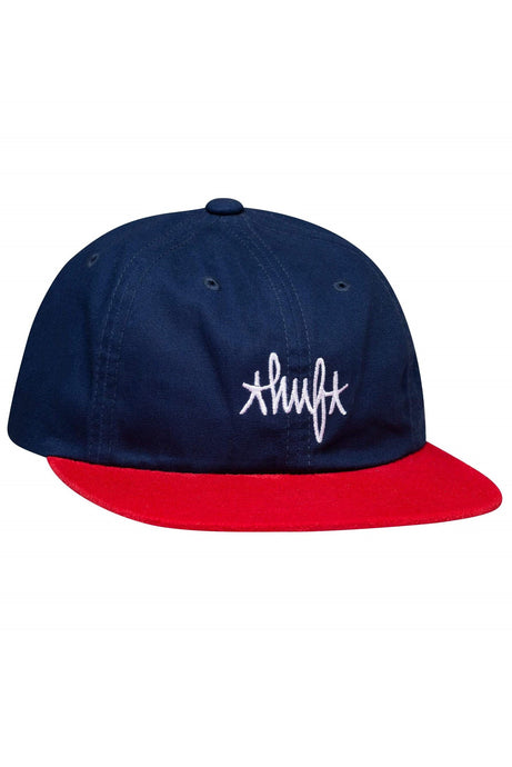 HUF Cap 6 Panel Haze Contrast French Navy - Circle Collective