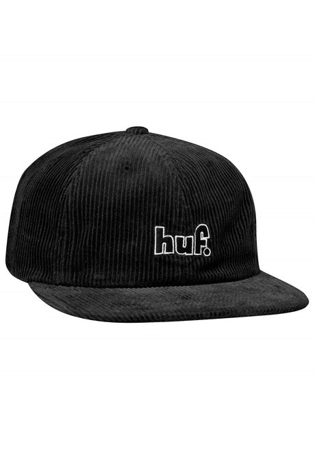 HUF Cap 6 Panel 1993 Black - Circle Collective