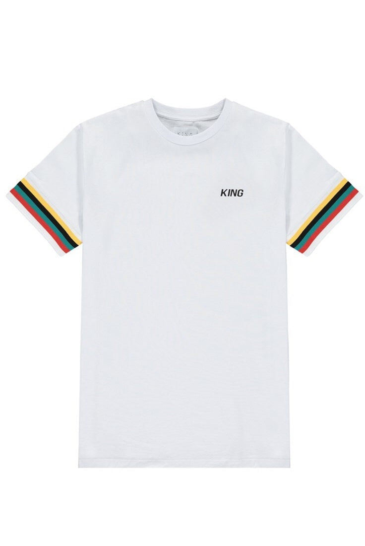 KING APPAREL T-Shirt Bethnal White - Circle Collective
