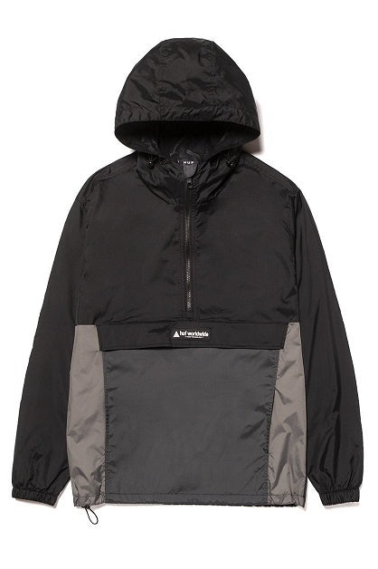 HUF Jacket Wave Anorak Black - Circle Collective