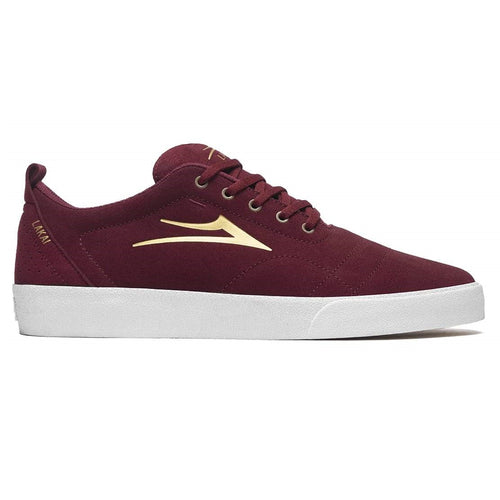 LAKAI Bristol Burgundy Suede - Circle Collective