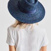 BRIXTON Hat Joanna Navy - Circle Collective
