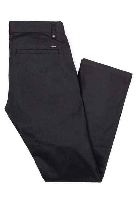 BRIXTON Chinos Reserve Black - Circle Collective