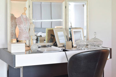 Why a Makeup Desk with a Mirror and Lights is the Right Choice for You