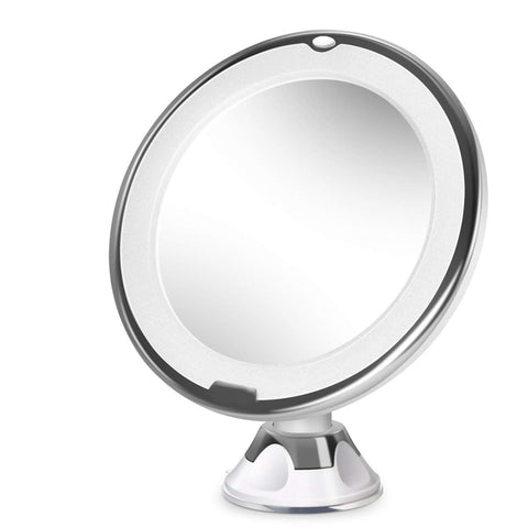 10X Magnifying Lighted Makeup Mirror 360 degrees adjustable - Mirrex™