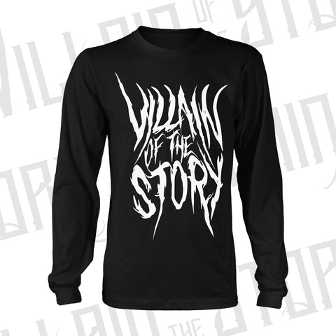'White Deathcore VOTS' Long Sleeve
