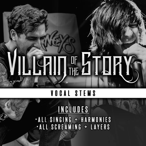 Wrapped in Vines, Covered in Thorns (song) - Vocal Stems