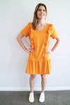 Ruffle Dress - Marigold