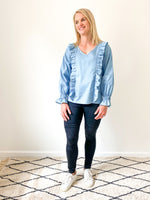 chambray-breastfeeding-top-nz-ruffletop-front