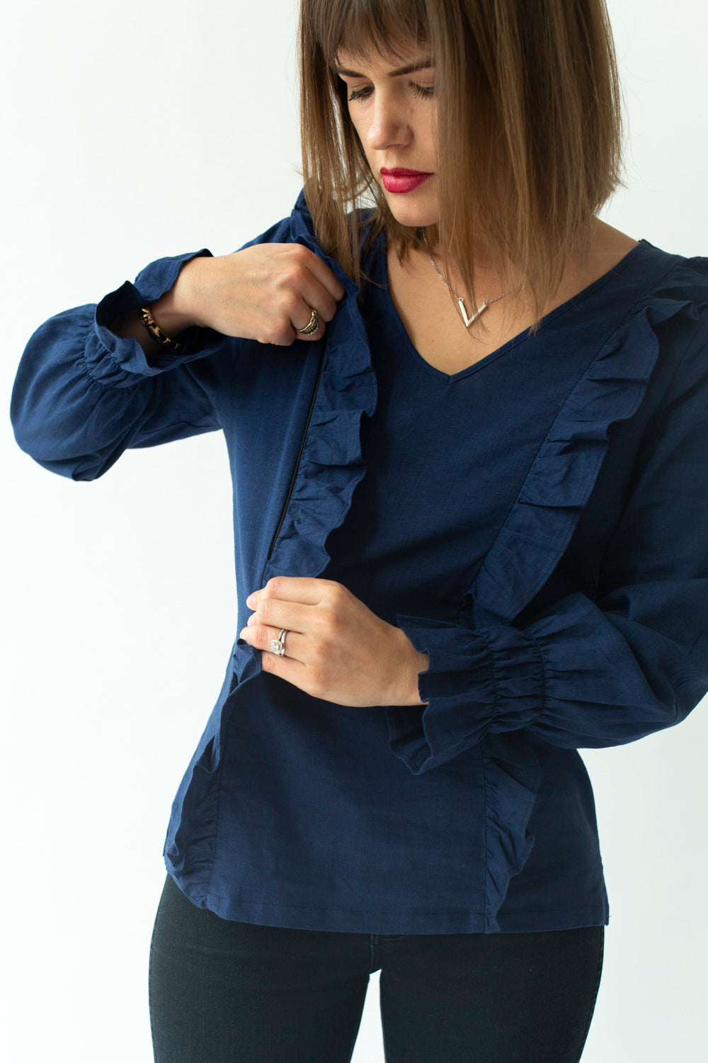 long-sleeve-breastfeeding-top-with-ruffles