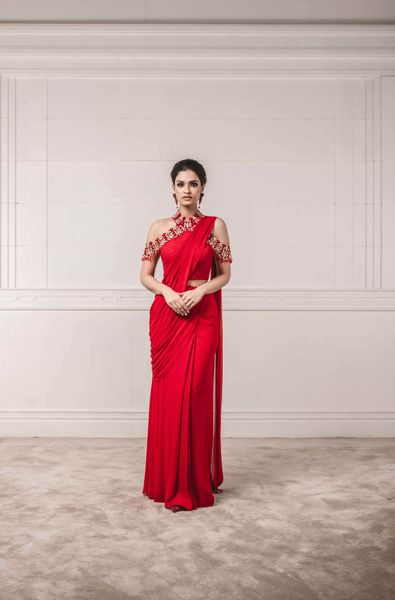 Concept Saree with Embellished Blous