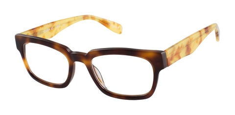 Benson Street SCOJO reading glasses bourbon and tortoise