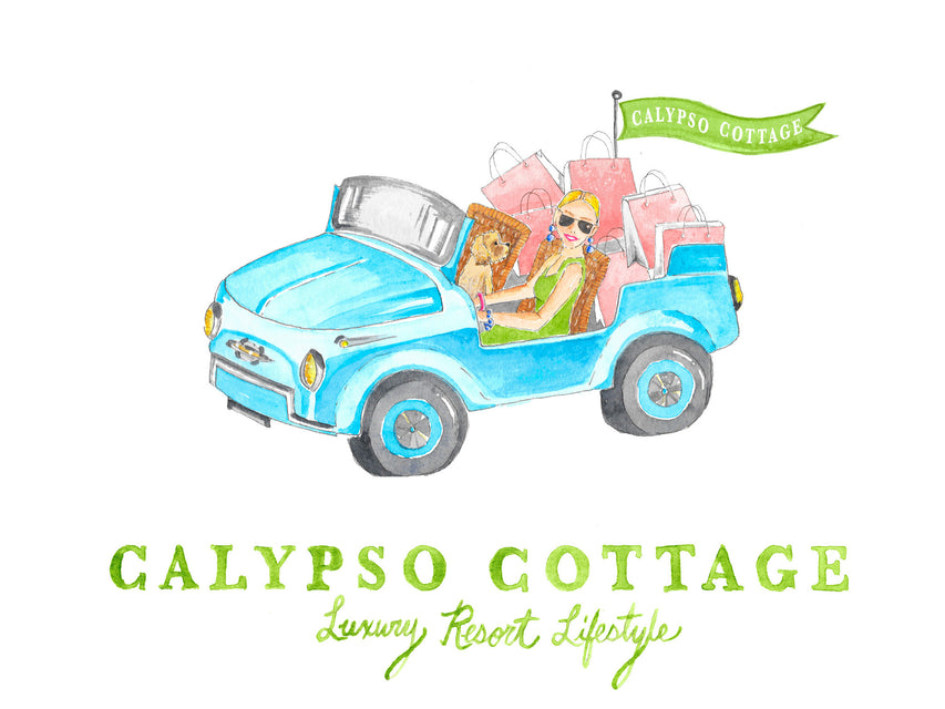 Calypso Cottage luxury resort lifestyle shop