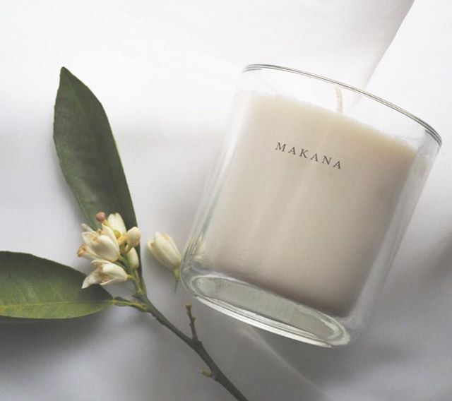 Makana candles inspired by Hawaiian scents
