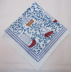 Sail On Napkins - Set of 4