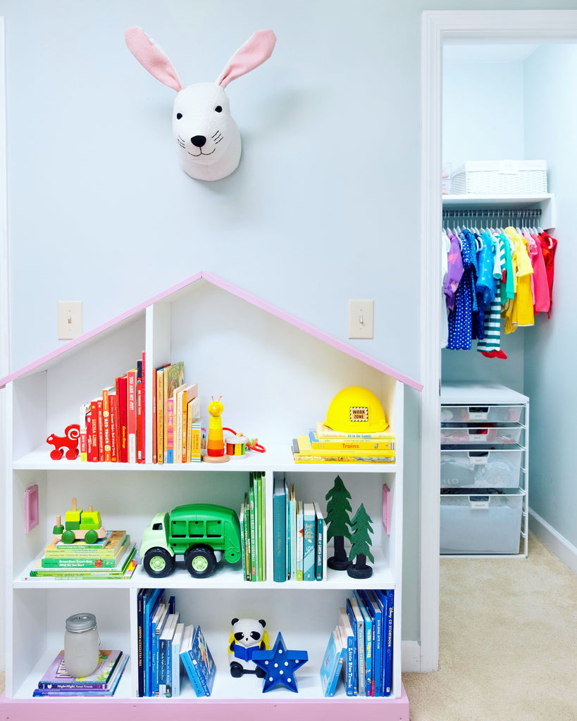 Tidy and organized toddler room