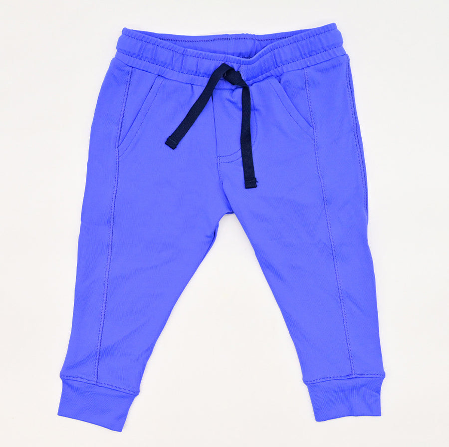Happy Lil' One Baby Unisex The Jogger Pant in Delphinium