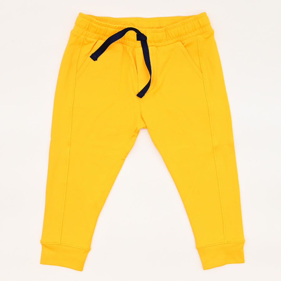 Happy Lil' One Baby Unisex The Jogger Pant in Golden